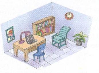 Tranh bài trí ngôi nhà