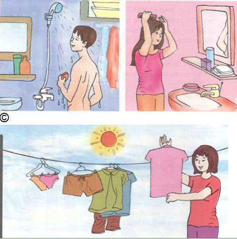 vệ sinh bộ phận sinh dục