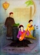 Khi trao duyên cho em, Kiều nhắc nhiều đến những kỉ vật của tình yêu giữa nàng với Kim Trọng. Vì vậy, cần hiểu rõ các kỉ vật ấy trong các câu thơ nào?