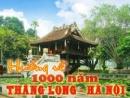 Viết bài văn nêu cảm nghĩ của em nhân sự kiện Thăng Long - Hà Nội sắp tròn 1000 năm tuổi