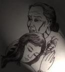 Phân tích câu ca dao sau: Chiều chiều ra đứng ngõ sau  - Trông về quê mẹ, ruột đau chín chiều.