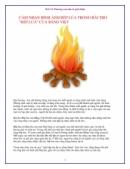 Trong bài thơ Bếp lửa của nhà thơ Bằng Việt, tại sao khi nhắc đến bếp lửa là người cháu nhớ đến bà và ngược lại, khi nhớ về bà là nhớ ngay đến hình ảnh bếp lửa? Viết đoạn văn nêu rõ ý kiến của em