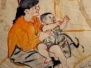 Bình giảng đoạn thơ sau đây trong bài Bếp lửa của Bằng Việt: Rồi sớm rồi chiều ....thiêng liêng bếp lửa.