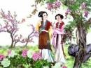 Dựa trên đoạn trích Cảnh ngày xuân, hãy kể lại cuộc đi chơi xuân của chị em Thuý Kiều.