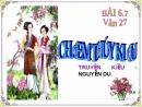 Phân tích đoạn trích chị em Thúy Kiều của đại thi hào Nguyễn Du.
