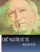 Hình tượng người quản ngục trong Chữ người tử tù của Nguyễn Tuân
