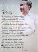 Phân tích bài 'Từ ấy' của nhà thơ Tố Hữu