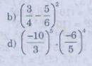 Bài 40 trang 23 sgk toán 7 tập 1