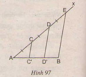 Hình 97 bài 67 trang 102 SGK Toán lớp 8 Tập 1