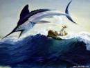Tóm tắt truyện Ông già và biển cả - Ngữ Văn 12