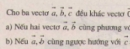 Bài 1 trang 7 sgk toán hình học  lớp 10