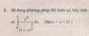 Bài tập 3 - Trang 113 -SGK Giải tích 12