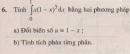 Bài tập 6 - Trang 113 - SGK Giải tích 12