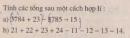Bài 70 trang 88 sgk toán 6 tập 1