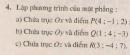 Bài tập 4 - Trang 80 - SGK Hình học 12