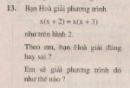 Bài 13 trang 13 sgk toán 8 tập 2