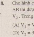 Bài 8 trang 111 - Sách giáo khoa toán 9 tập 2