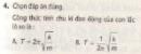 Bài 4 trang 13 SGK vật lí 12