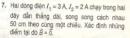Bài 7 sgk trang 133 sgk vật lí 11