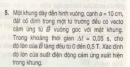 Bài 5 trang 152 sgk vật lí 11