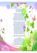 Xuân Diệu và quan niệm sống qua Vội Vàng_bài 1