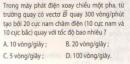 Bài 3 trang 94 sgk vật lý 12