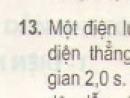 Bài 13 trang 45 - Sách giáo khoa vật lí 11