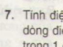 Bài 7 trang 49 - Sách giáo khoa vật lí 11