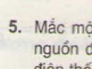 Bài 5 trang 54 - Sách giáo khoa vật lí 11