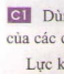 Câu 1 trang 34 - Sách giáo khoa vật lí 6