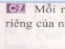 Câu 7 trang 38 - Sách giáo khoa vật lí 6