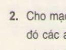 Bài 2 trang 62 - Sách giáo khoa vật lý 11