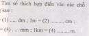 Bài C1 trang 6 sgk vật lý 6