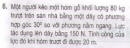 Bài 6 trang 133 sgk vật lí 10