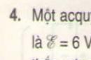 Bài 4 trang 58 - Sách giáo khoa vật lý 11
