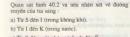 Bài 1 trang 108 sgk vật lí 9.