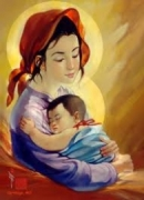 Tóm tắt văn bản Trong lòng mẹ