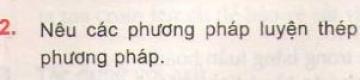 Bài 2 - Trang 151 - SGK Hóa học 12