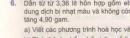 Bài 6 trang 132 sgk hóa học 11