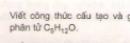 Bài 1 trang 186 sgk Hóa học lớp 11