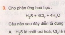 Bài 3 - Trang 138 - SGK Hóa Học 10