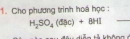 Bài 1 - Trang 146 - SGK Hóa học 10