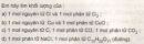 Bài 2 trang 65 sgk hóa học 8