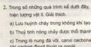 Bài 2 trang 47 sgk hóa học 8