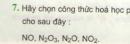 Bài 7 trang 38 sgk hóa học 8