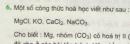 Bài 6 trang 38 sgk hóa học 8