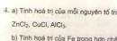 Bài 4 trang 38 sgk hóa học 8