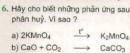 Bài tập 6 - Trang 101 - SGK Hóa học 8