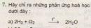 Bài tập 7 - Trang 101 - SGK Hóa học 8