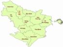 Hãy kể tên các tỉnh, thành phố (tương đương cấp tỉnh) thuộc Đồng bằng sông Hồng.